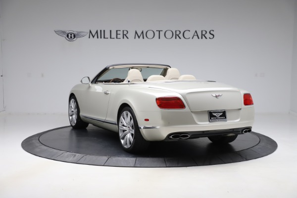 Used 2015 Bentley Continental GTC V8 for sale $109,900 at Maserati of Westport in Westport CT 06880 5