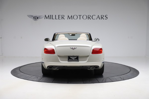 Used 2015 Bentley Continental GTC V8 for sale $109,900 at Maserati of Westport in Westport CT 06880 6