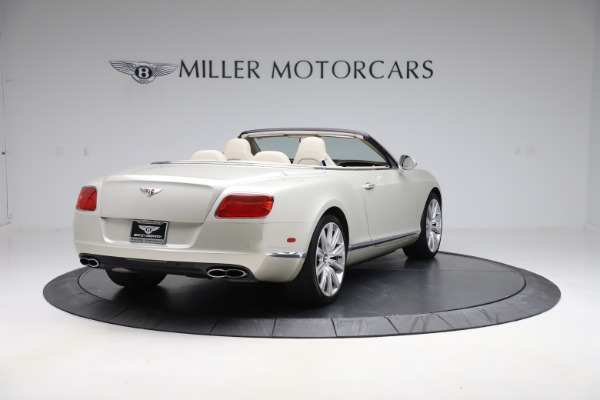 Used 2015 Bentley Continental GTC V8 for sale $109,900 at Maserati of Westport in Westport CT 06880 7