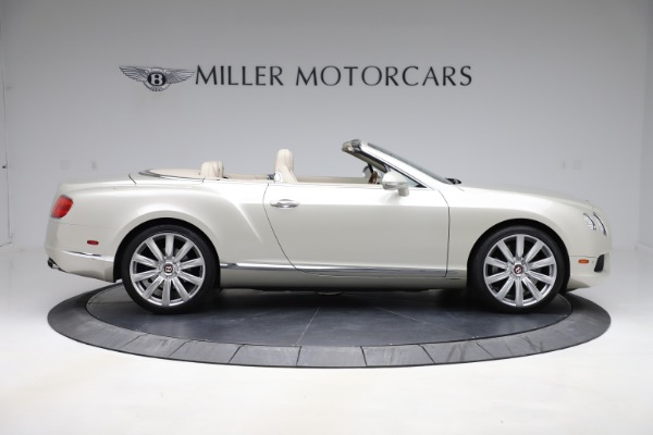 Used 2015 Bentley Continental GTC V8 for sale $109,900 at Maserati of Westport in Westport CT 06880 9