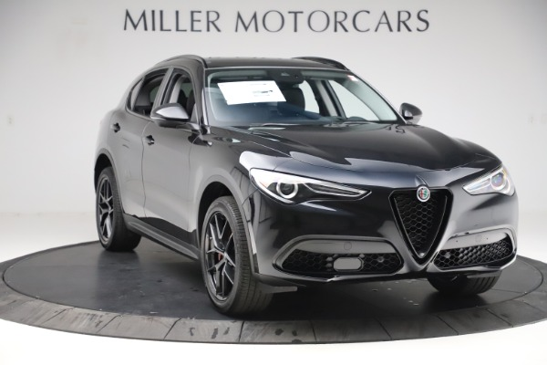 New 2020 Alfa Romeo Stelvio Q4 for sale $49,840 at Maserati of Westport in Westport CT 06880 11