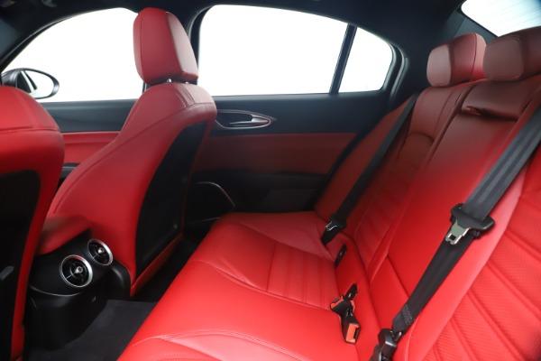 New 2020 Alfa Romeo Giulia Ti Sport Q4 for sale $56,440 at Maserati of Westport in Westport CT 06880 19