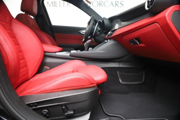 New 2020 Alfa Romeo Giulia Ti Sport Q4 for sale $56,440 at Maserati of Westport in Westport CT 06880 23