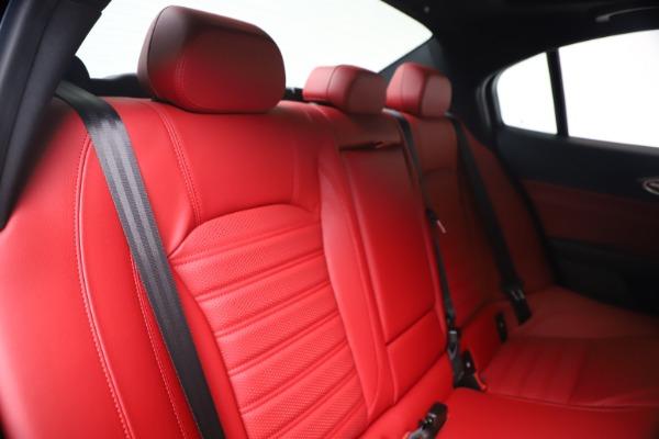 New 2020 Alfa Romeo Giulia Ti Sport Q4 for sale $56,440 at Maserati of Westport in Westport CT 06880 26