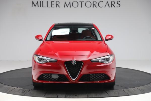 New 2020 Alfa Romeo Giulia Q4 for sale $45,740 at Maserati of Westport in Westport CT 06880 12