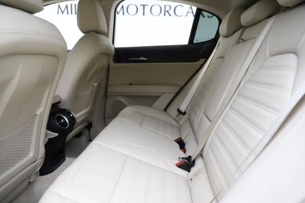 New 2020 Alfa Romeo Stelvio Ti Lusso Q4 for sale $55,790 at Maserati of Westport in Westport CT 06880 19