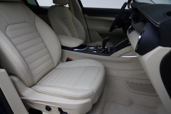 New 2020 Alfa Romeo Stelvio Ti Lusso Q4 for sale $55,790 at Maserati of Westport in Westport CT 06880 24