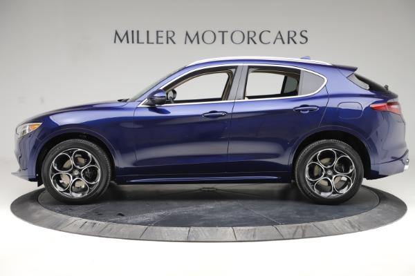 New 2020 Alfa Romeo Stelvio Ti Lusso Q4 for sale $55,790 at Maserati of Westport in Westport CT 06880 3