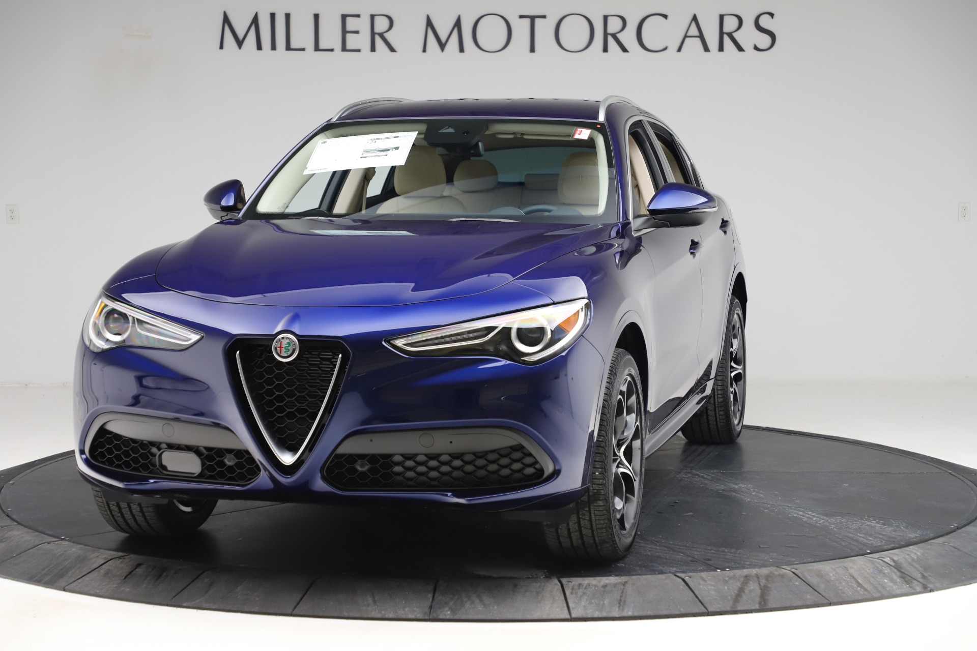 New 2020 Alfa Romeo Stelvio Ti Lusso Q4 for sale $55,790 at Maserati of Westport in Westport CT 06880 1