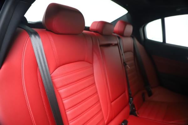 New 2020 Alfa Romeo Giulia Ti Sport Q4 for sale $53,790 at Maserati of Westport in Westport CT 06880 26