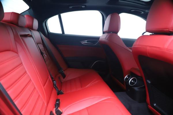 New 2020 Alfa Romeo Giulia Ti Sport Q4 for sale $53,790 at Maserati of Westport in Westport CT 06880 27