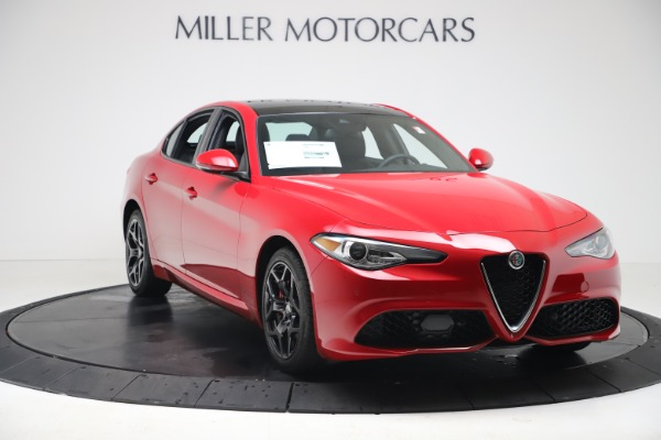New 2020 Alfa Romeo Giulia Sport Q4 for sale $47,790 at Maserati of Westport in Westport CT 06880 11