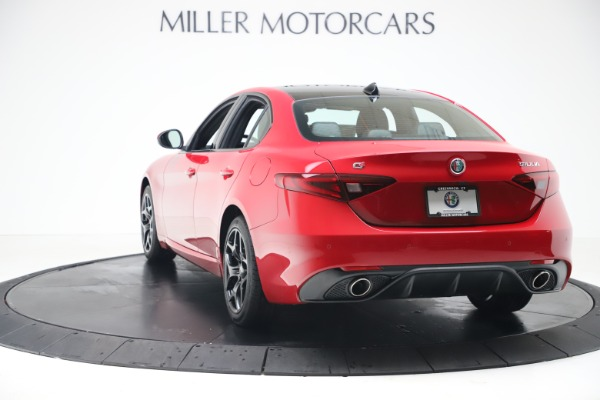 New 2020 Alfa Romeo Giulia Sport Q4 for sale $47,790 at Maserati of Westport in Westport CT 06880 5