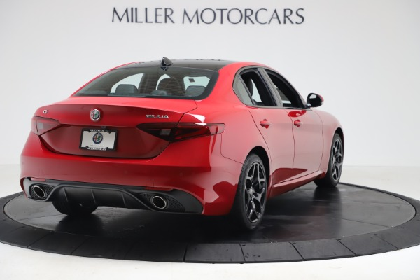 New 2020 Alfa Romeo Giulia Sport Q4 for sale $47,790 at Maserati of Westport in Westport CT 06880 7