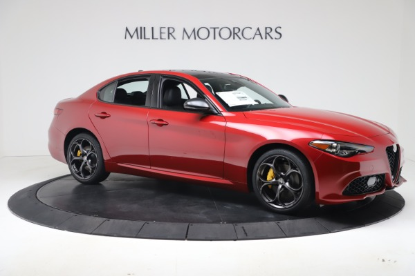 New 2020 Alfa Romeo Giulia Ti Sport Q4 for sale $56,690 at Maserati of Westport in Westport CT 06880 10