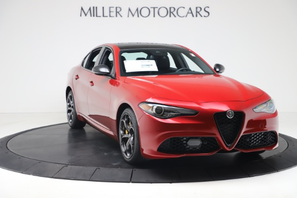 New 2020 Alfa Romeo Giulia Ti Sport Q4 for sale $56,690 at Maserati of Westport in Westport CT 06880 11