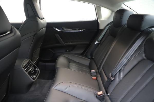 New 2020 Maserati Quattroporte S Q4 GranSport for sale $121,885 at Maserati of Westport in Westport CT 06880 19