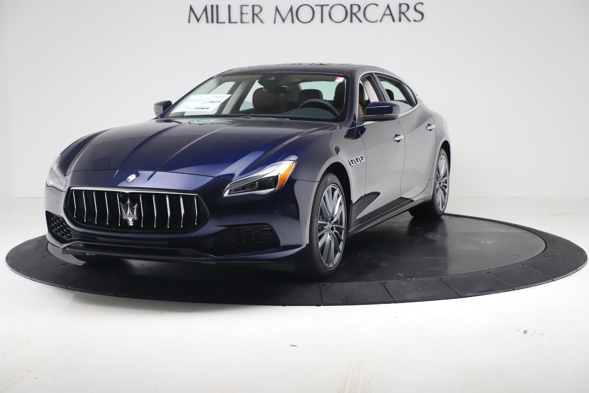 New 2020 Maserati Quattroporte S Q4 GranLusso for sale $122,185 at Maserati of Westport in Westport CT 06880 1