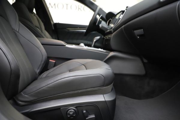 New 2020 Maserati Ghibli S Q4 GranSport for sale $90,285 at Maserati of Westport in Westport CT 06880 23
