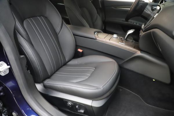 New 2019 Maserati Ghibli S Q4 for sale Sold at Maserati of Westport in Westport CT 06880 24