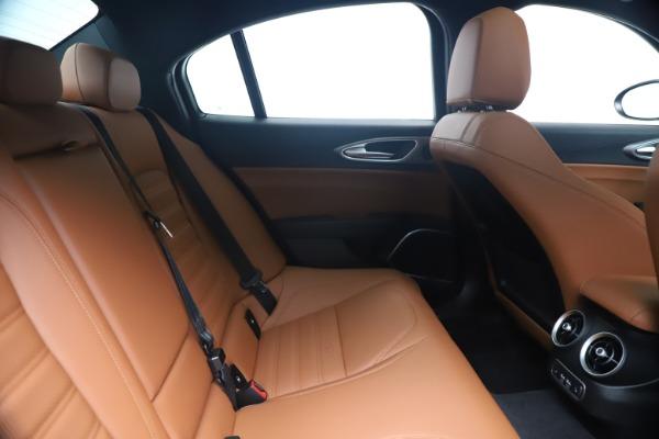 New 2020 Alfa Romeo Giulia Ti Sport Q4 for sale $52,840 at Maserati of Westport in Westport CT 06880 27