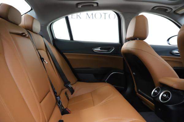 New 2020 Alfa Romeo Giulia Q4 for sale Sold at Maserati of Westport in Westport CT 06880 27