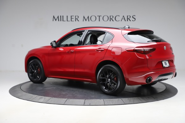 New 2020 Alfa Romeo Stelvio Sport Q4 for sale $50,190 at Maserati of Westport in Westport CT 06880 4