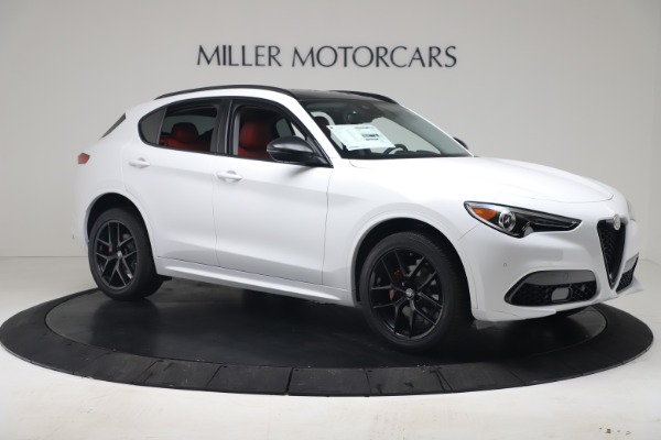 New 2020 Alfa Romeo Stelvio Sport Q4 for sale $50,190 at Maserati of Westport in Westport CT 06880 10