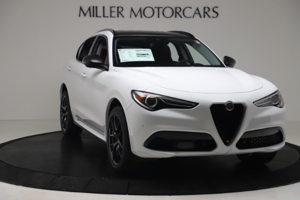 New 2020 Alfa Romeo Stelvio Sport Q4 for sale $50,190 at Maserati of Westport in Westport CT 06880 11