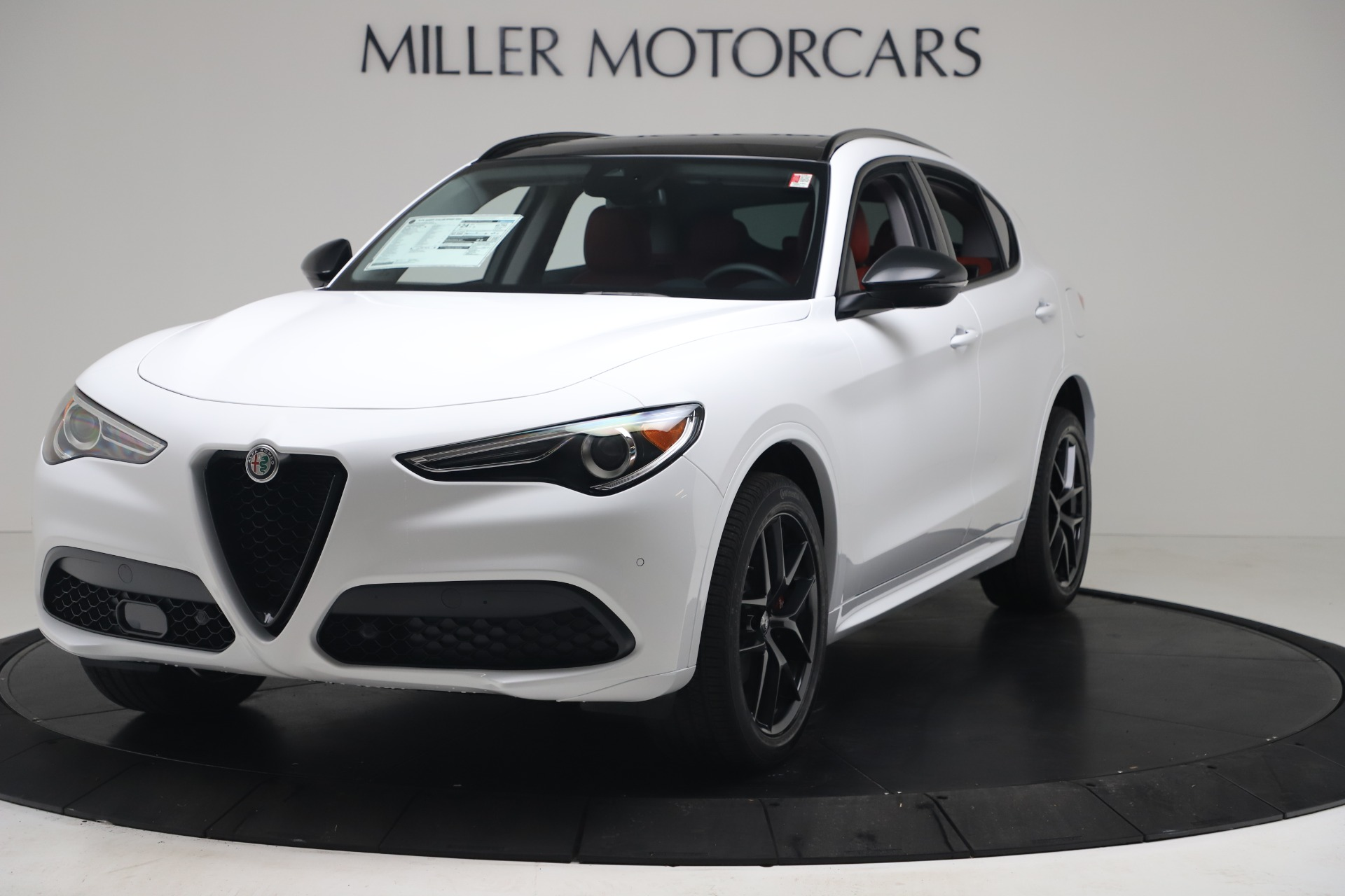 New 2020 Alfa Romeo Stelvio Sport Q4 for sale $50,190 at Maserati of Westport in Westport CT 06880 1