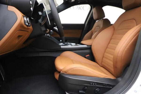 New 2020 Alfa Romeo Giulia Ti Sport Q4 for sale $53,190 at Maserati of Westport in Westport CT 06880 14