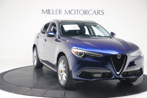 New 2020 Alfa Romeo Stelvio Ti Q4 for sale $54,340 at Maserati of Westport in Westport CT 06880 11