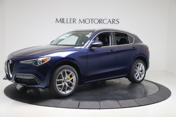 New 2020 Alfa Romeo Stelvio Ti Q4 for sale $54,340 at Maserati of Westport in Westport CT 06880 2