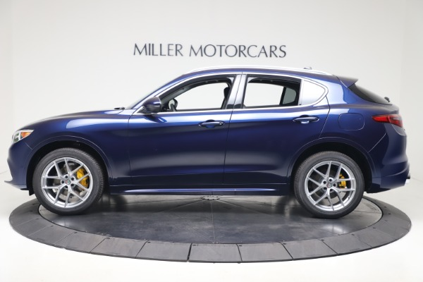 New 2020 Alfa Romeo Stelvio Ti Q4 for sale $54,340 at Maserati of Westport in Westport CT 06880 3