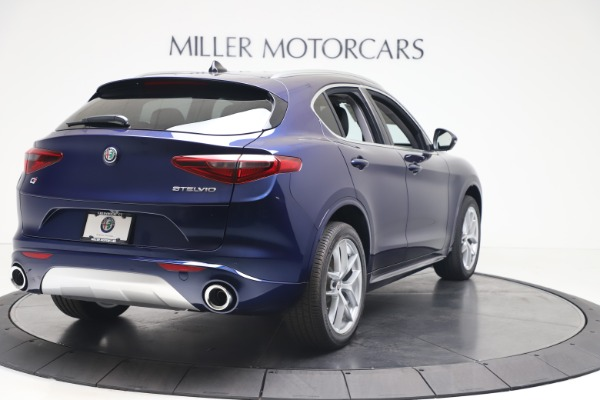New 2020 Alfa Romeo Stelvio Ti Q4 for sale $54,340 at Maserati of Westport in Westport CT 06880 7