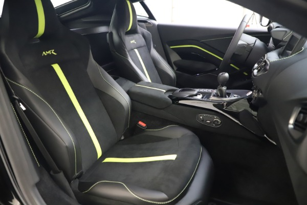 New 2020 Aston Martin Vantage AMR Coupe for sale $191,931 at Maserati of Westport in Westport CT 06880 19