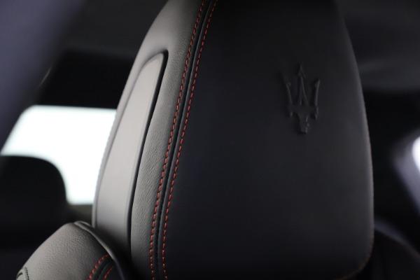 New 2020 Maserati Ghibli S Q4 GranSport for sale $88,285 at Maserati of Westport in Westport CT 06880 27