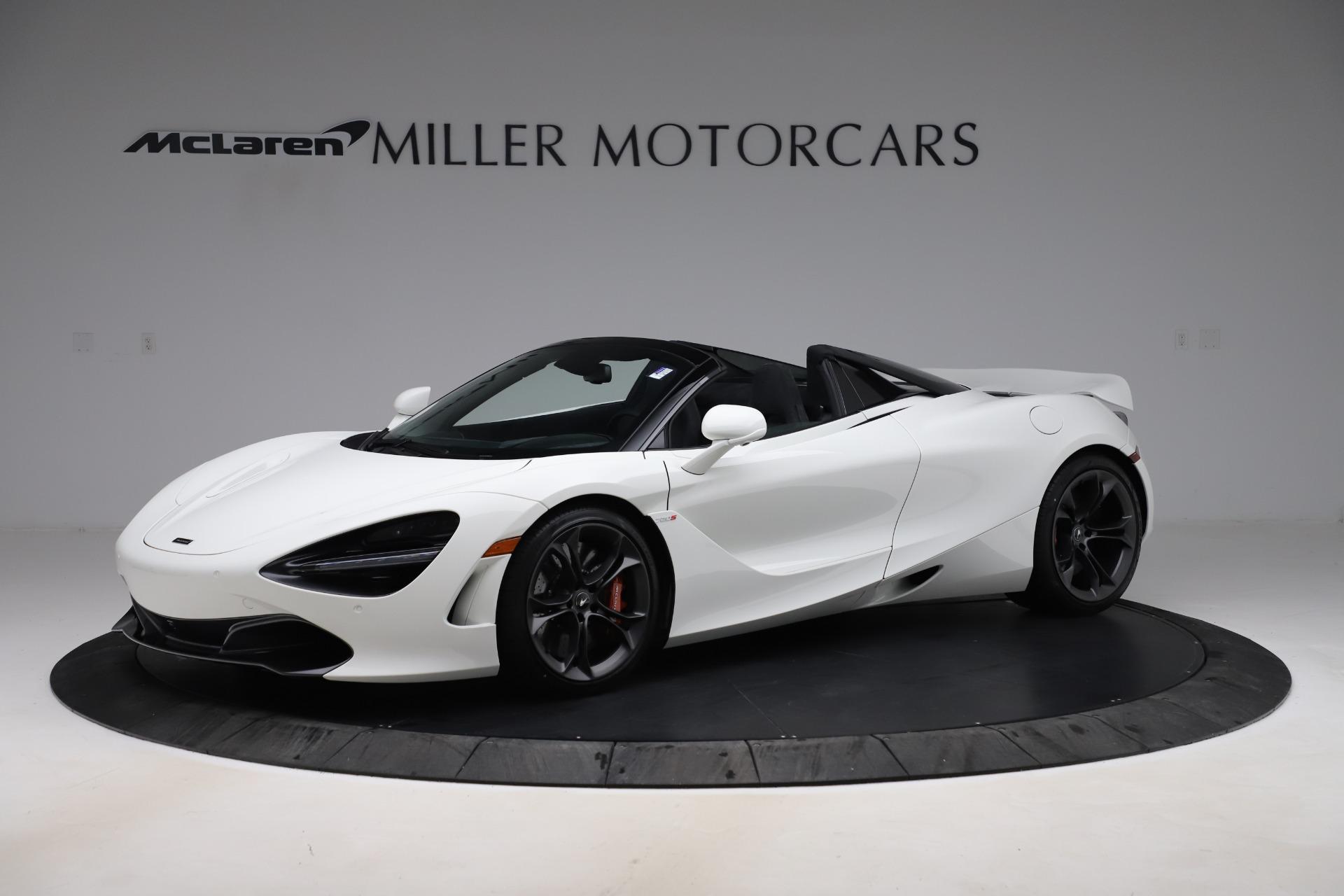 New 2020 McLaren 720S Spider Convertible for sale Sold at Maserati of Westport in Westport CT 06880 1