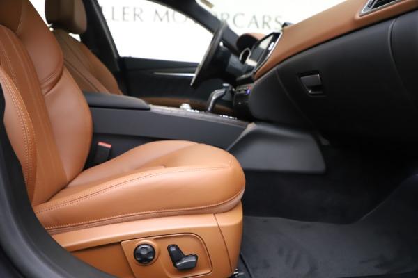 New 2019 Maserati Ghibli S Q4 GranLusso for sale $98,095 at Maserati of Westport in Westport CT 06880 23