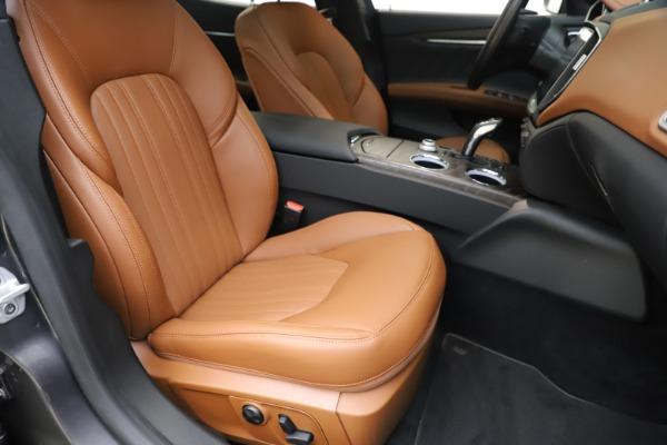 New 2019 Maserati Ghibli S Q4 GranLusso for sale $98,095 at Maserati of Westport in Westport CT 06880 24