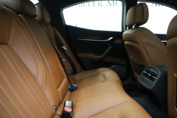 New 2019 Maserati Ghibli S Q4 GranLusso for sale $98,095 at Maserati of Westport in Westport CT 06880 27