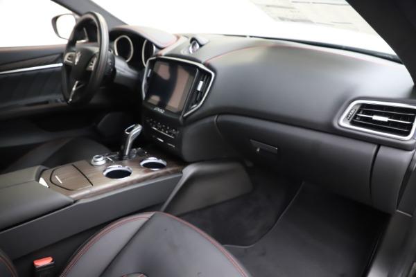 New 2019 Maserati Ghibli S Q4 GranLusso for sale $98,395 at Maserati of Westport in Westport CT 06880 22
