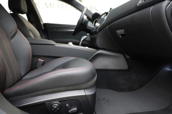 New 2019 Maserati Ghibli S Q4 GranLusso for sale $98,395 at Maserati of Westport in Westport CT 06880 23