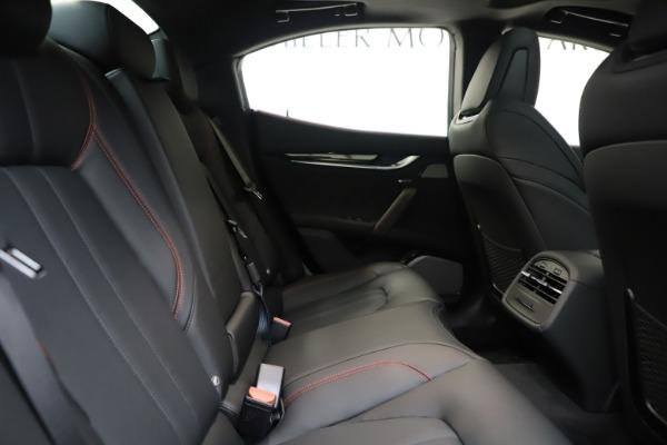 New 2019 Maserati Ghibli S Q4 GranSport for sale Sold at Maserati of Westport in Westport CT 06880 27