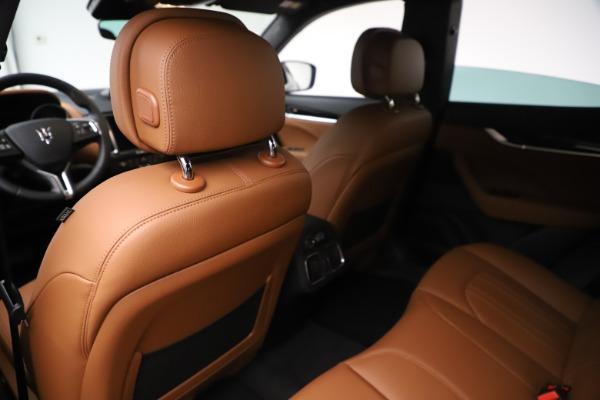 New 2020 Maserati Levante Q4 for sale $79,935 at Maserati of Westport in Westport CT 06880 20