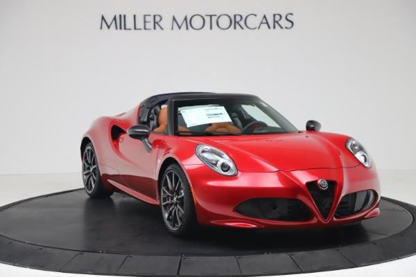 New 2020 Alfa Romeo 4C Spider for sale $82,395 at Maserati of Westport in Westport CT 06880 11