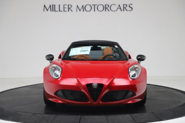 New 2020 Alfa Romeo 4C Spider for sale $82,395 at Maserati of Westport in Westport CT 06880 12