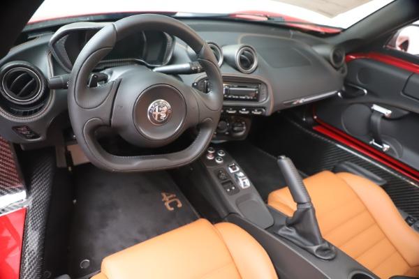 New 2020 Alfa Romeo 4C Spider for sale $82,395 at Maserati of Westport in Westport CT 06880 19