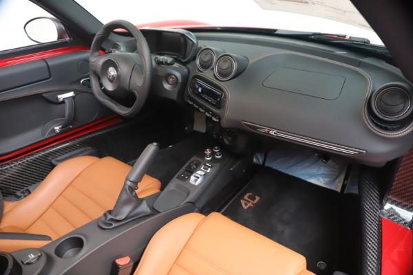 New 2020 Alfa Romeo 4C Spider for sale $82,395 at Maserati of Westport in Westport CT 06880 23