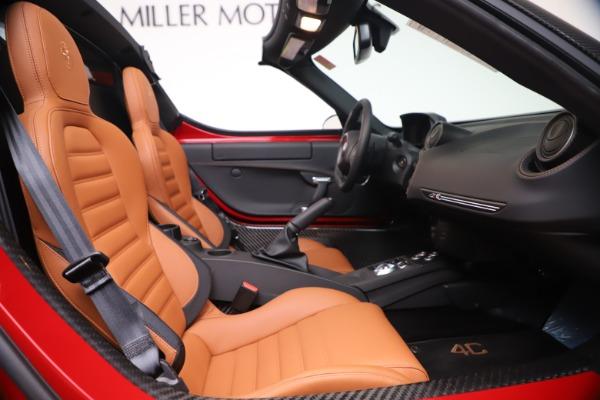 New 2020 Alfa Romeo 4C Spider for sale $82,395 at Maserati of Westport in Westport CT 06880 24